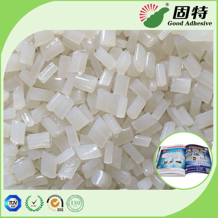 EVA White Transparent Hot Melt Book Binder Glue Adhesive Pellets For Double Film Coated Paper,Film Laminated Cover