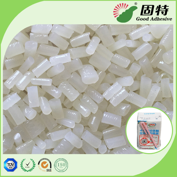 White and semi-transparent granule Hot Melt Glue Pellets For Straw Box Positioning Hot Melt Glue Adhesive