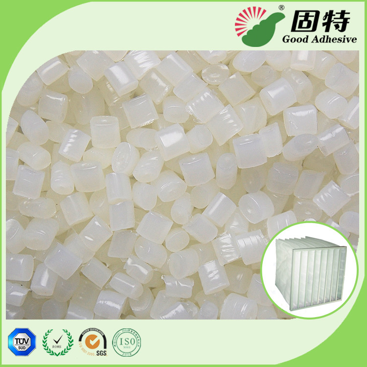 White granul Pocket Air Filter Making Hot Melt Pellets Great Sealing Performance EVA Hot melt Adhesive Pocket Air Filter