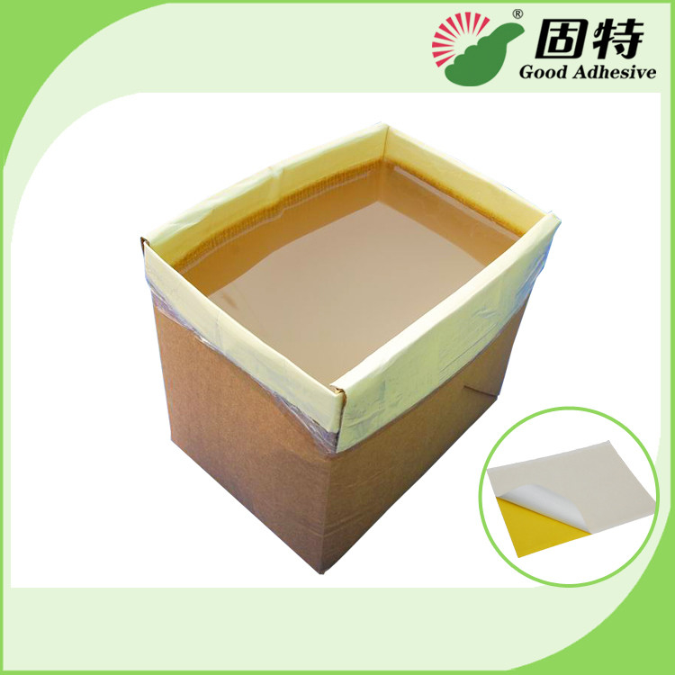 SBS Colorless And Transparent Rubber-Like Solid Industrial Hot Melt Adhesive For Insect Glue Traps Board